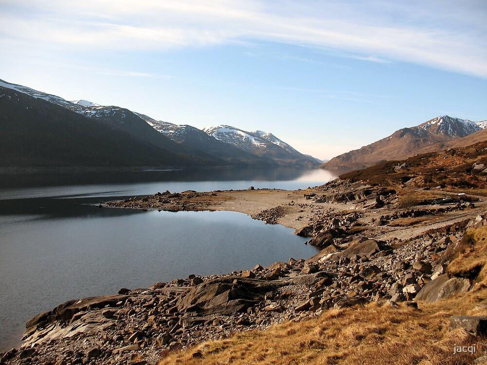 Loch Mullardoch by jacqi