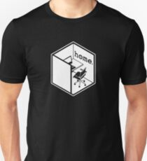 Cubicle Of Home Logo Funny T-Shirt