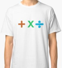Coloured + X and Divide Classic T-Shirt