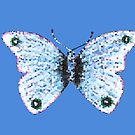 Mosaic Butterfly by hummingbirds