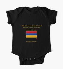 Armenian Genocide One Piece - Short Sleeve