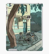 bicycles at the Hotel iPad Case/Skin