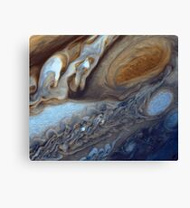 Storms on Jupiter Canvas Print