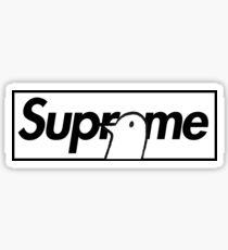 Oyasumi Punpun x Supreme Parody Box Logo Sticker