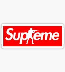 CS:GO x Supreme Parody Box Logo Sticker