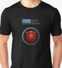 Hal 9000 2001: A Space Odyssey Unisex T-Shirt