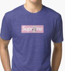 Dragon Maid Kanna x Supreme Parody Box Logo Tri-blend T-Shirt