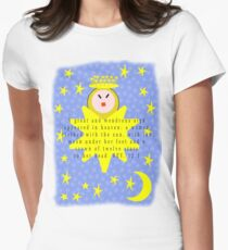 A great and wondrous sign appeared in heaven Womens Fitted T-Shirt