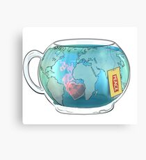 BREW WITHOUT BORDERS Canvas Print