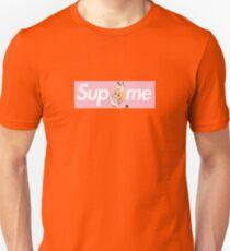 Kemono Friends Serval x Sup Me Parody Box Logo Pink T-Shirt
