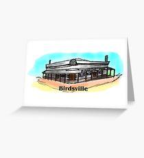 Birdsville Greeting Card