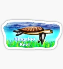 Ningaloo Reef Sticker