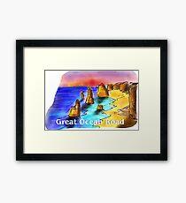 Great Ocean Road - Victoria - Australia Framed Print