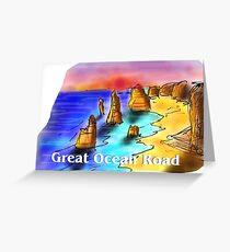 Great Ocean Road - Victoria - Australia Greeting Card