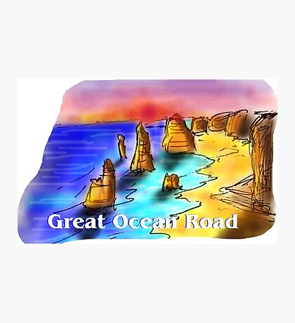 Great Ocean Road - Victoria - Australia Photographic Print