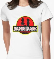 Japari Park Kemono Friends Womens Fitted T-Shirt