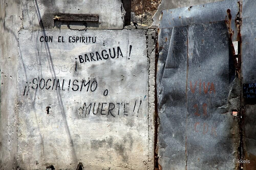 Havana graffiti by Fikkels