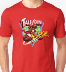 Talespin, Baloo Logo Plane Unisex T-Shirt
