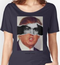 Donald Trump Charles Manson American Psycho Women's Relaxed Fit T-Shirt