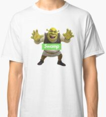 Shrek Supreme Swamp Parody Classic T-Shirt