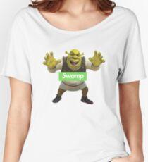 Shrek Supreme Swamp Parody Women's Relaxed Fit T-Shirt