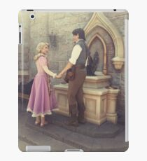 Rapunzel and Eugene at Disneyland iPad Case/Skin