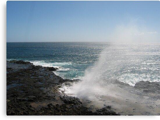 Kauai blowhole by jewelsofawe