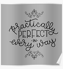 Practically Perfect Parasols Poster
