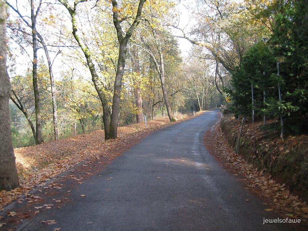 Peaceful road by jewelsofawe