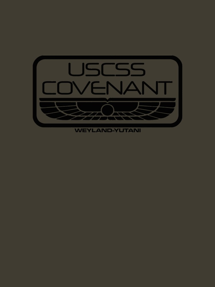 USCSS Covenant : Inspired by Alien : Covenant (Dark) | Unisex T-Shirt