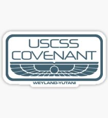 USCSS Covenant : Inspired by Alien : Covenant Sticker