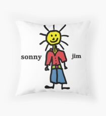Sonny Jim Throw Pillow