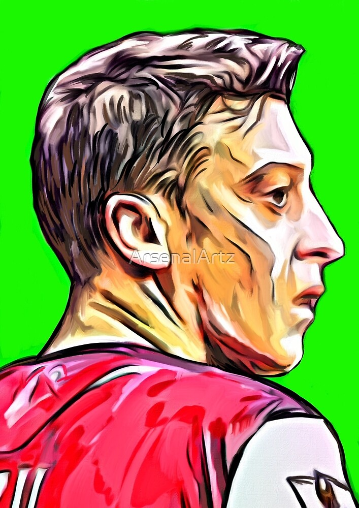Mesut Ozil by ArsenalArtz