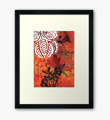 red 02 Framed Print