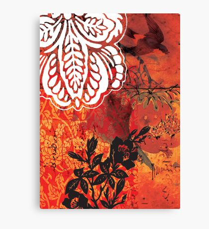 red 02 Canvas Print
