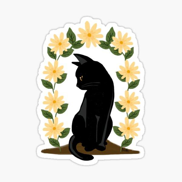 Flower gate Sticker