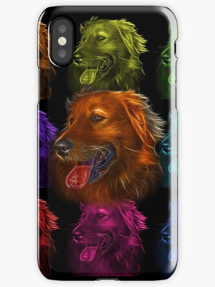 Golden Retriever Dog Art 4057 by Rateitart