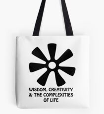 Adinkra Designs: Wisdom, Creativity & the Complexities of Life Tote Bag