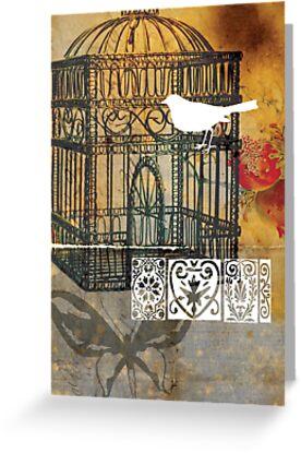 lovebird 04 by Narelle Craven