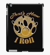So rolle ich Bowling iPad-Hülle & Klebefolie