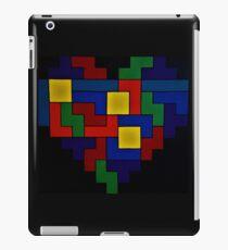 Tetris Heart - Dark Edition iPad Case/Skin