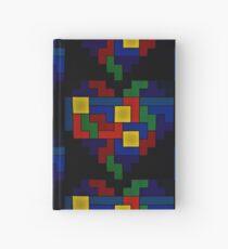 Tetris Heart - Dark Edition Hardcover Journal
