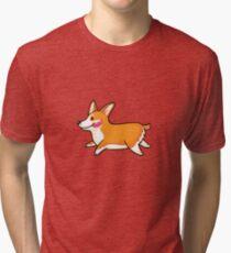 Corgi Tri-blend T-Shirt
