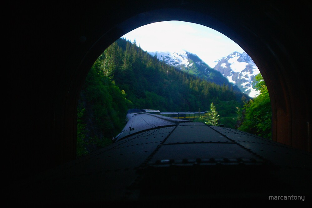 Tunnel Vision by marcantony