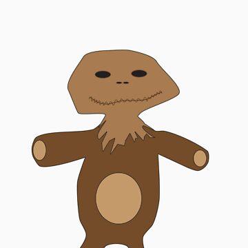 Teddy Bear Bag by ryanpederson