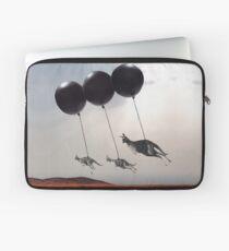 Black Balloons Laptop Sleeve