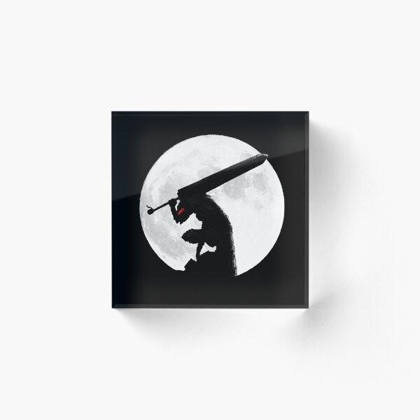 Berserk Moon Acrylic Block