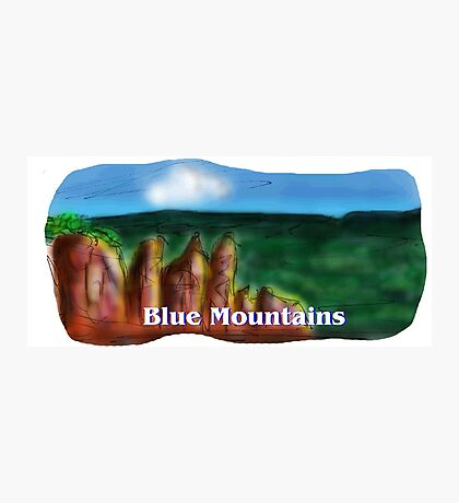 The Blue Mountains Photographic Print