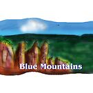 The Blue Mountains by David Fraser