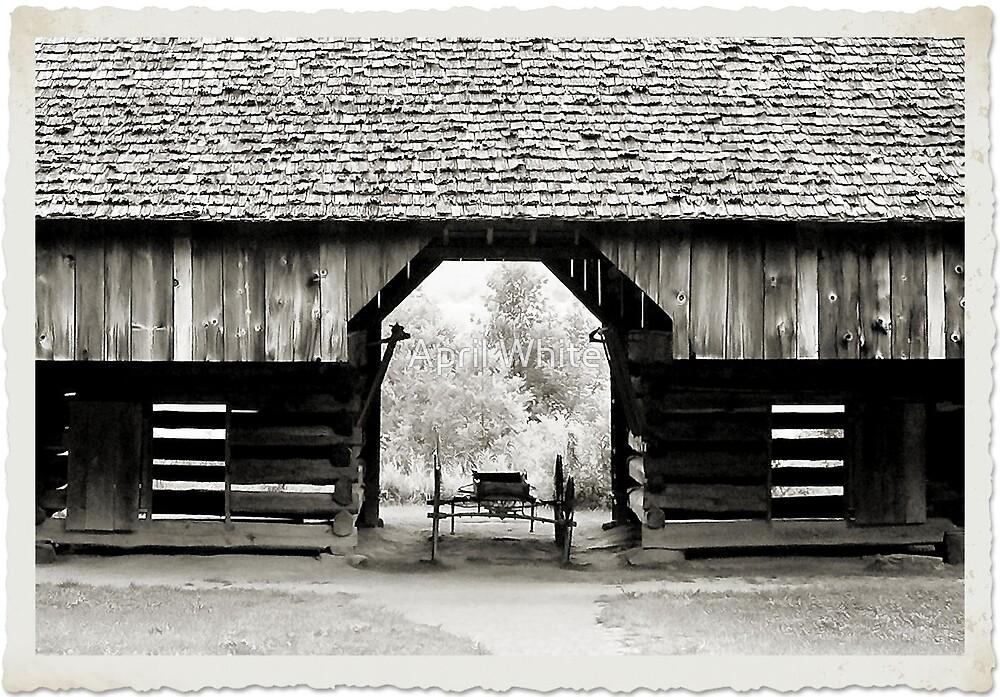 Cades Cove Barn by April White